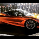 Az első kép a McLaren új szuper-sportkocsijáról