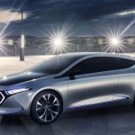 Mercedes-Benz EQA Concept: a közeljövő elektromos autója