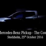 Jön a Mercedes luxus-kisteherautója!