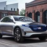 Guruló elektromos tanulmány a Mercedestől