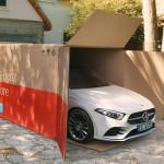 Házhoz szállítja a megrendelt autót a Mercedes is