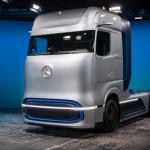 Megmutatta a Mercedes a jövő kamionját