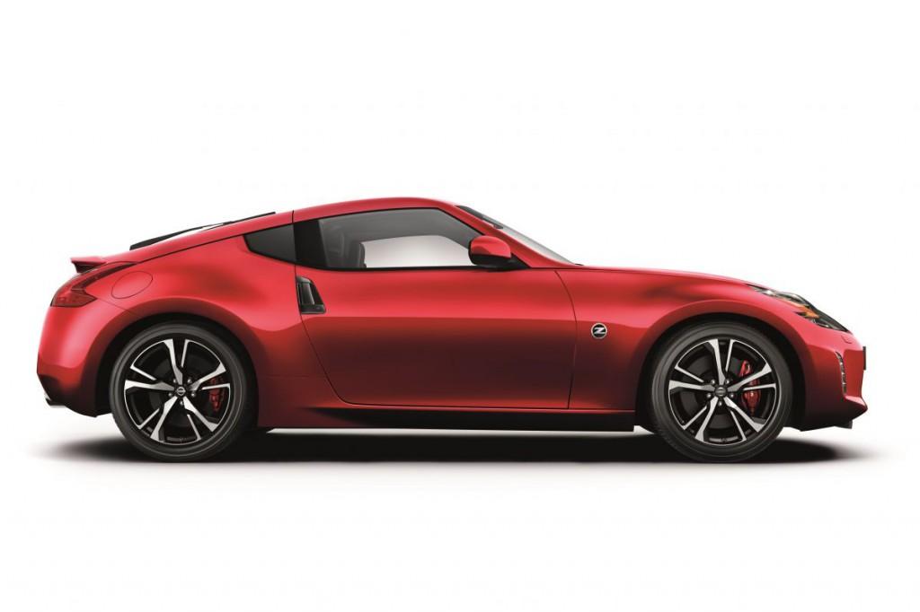 Ráncfelvarrást kapott a Nissan 370Z