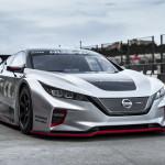 Európában is bemutatkozott az új Nissan Leaf versenyautó