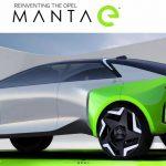 Teljesen elektromos formában tér vissza az Opel Manta