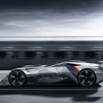 Hibrid versenyautót mutatott be a Peugeot