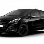 Peugeot 208 Black Edition – csak három ajtóval