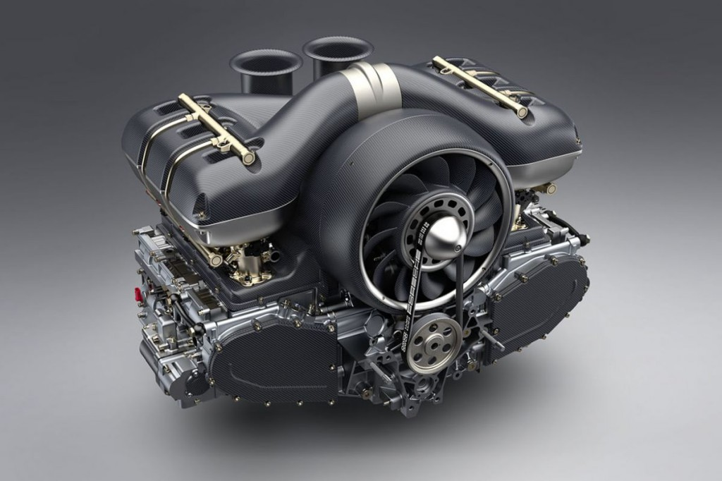 Porsche motor F1-es génekkel