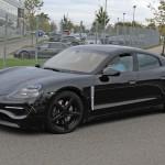 Kémfotókon az elektromos Porsche