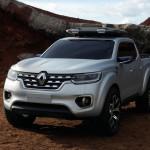 Az első képek a Renault új pick-upjáról