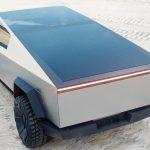 A hátsó kerék is kormányozható lesz a Tesla Cybertruck esetében