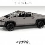 A LEGO építők álma a Tesla Cybertruck