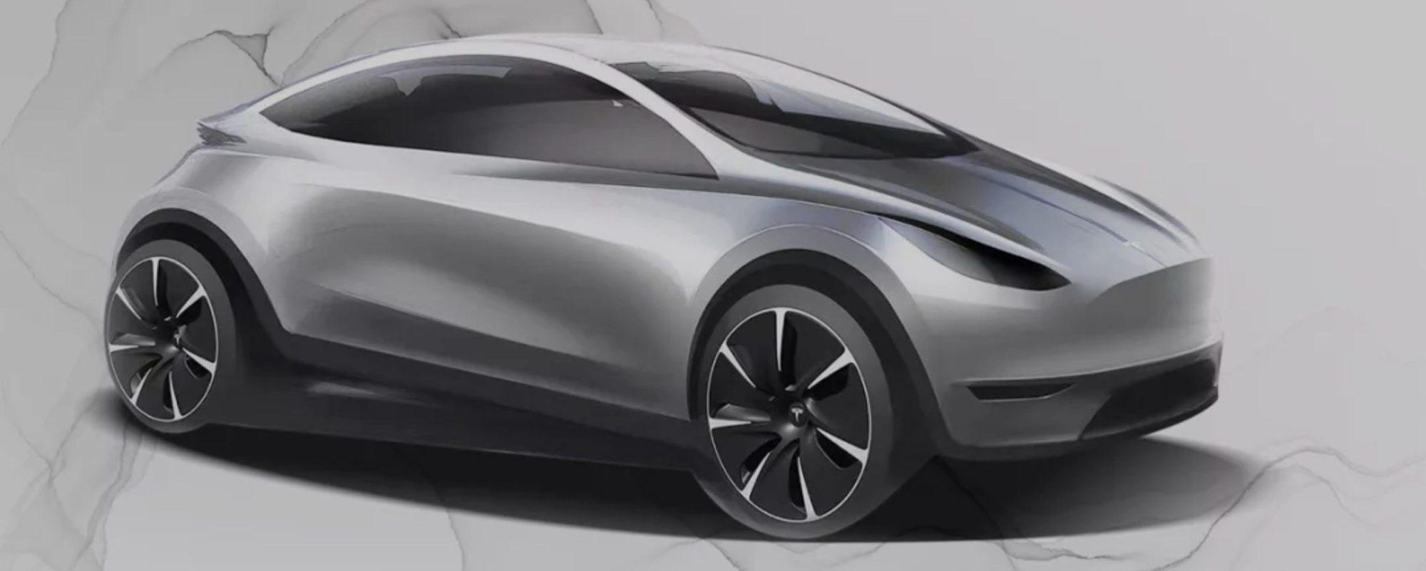 Tesla-hatchback