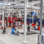 Megnyitott a Tesla gigagyára