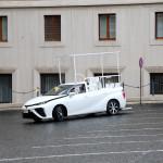 Hidrogénes autóval bővült a pápa flottája