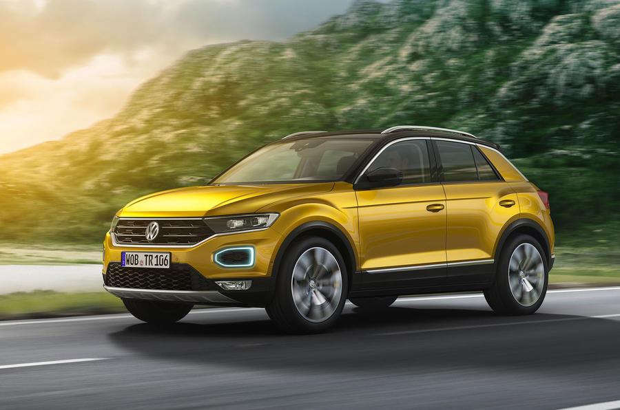 Bemutatták a Volkswagen T-Rocot
