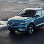 Bemutatkozott a Volvo második elektromos autója, a C40 Recharge