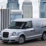 Áruszállító kivitelt kapott az elektromos London Taxi