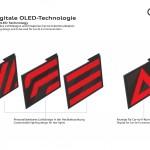 Vészjelzéseket és egyedi dizájnt is megjeleníthet az új Audi hátsó lámpa