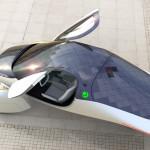 Futurisztikus külsővel és 1600 kilométeres hatótávval mutatkozik be az Aptera elektromos autója