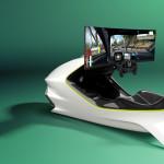 Nagyon komoly és annál még drágább szimulátor szerkezetet mutatott be az Aston Martin