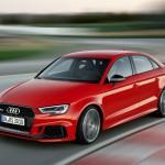 Lépcsőshátúként még erősebb az Audi RS3