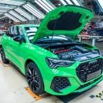 Újabb sport Audi gyártása indult meg Győrben