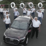 Másfél milliónál tart a győri Audi