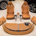 Bugatti Veyron gyári belső, egy igen komoly sportkocsi áráért
