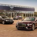 A 40 ezredik Flying Spur legyártását ünnepli a Bentley