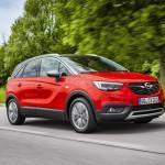 Új dízel motorral és ülésekkel frissült az Opel Crossland X