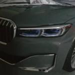Nagy hűtőrácsot kap a 7-es BMW is