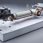 Itt a BMW üzemanyagcellás hajtása, mely az elektromos mellett a jövő hajtása lesz a bajoroknál