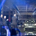 Mercedes gyárat avatott Putyin Moszkva mellett