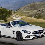 Ismét palettát szűkít a Mercedes SL, megkezdődik a következő generáció bevezetése