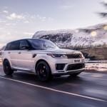 Elektromos turbóval erősít a Range Rover Sport