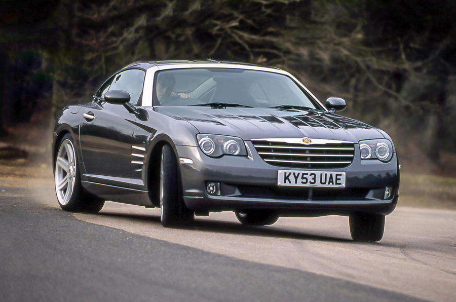 Chrysler Crossfire V6 Coupe 2004 Grey