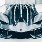 1000 lóerős hibriddel készül a Lamborghini Frankfurtba