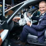 Herbert Diess nem fél az Apple elektromos autójától