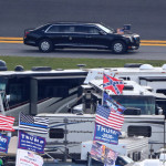 Így parádézott Donald Trump a Daytona 500-on