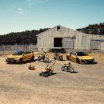 Aranylakodalom Honda módra