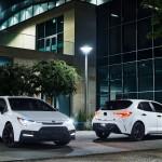 A fekete elemekre helyezi a hangsújt az új Toyota Corolla különleges széria