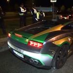 120 sportkocsit foglalt le, majd adott vissza a német rendőrség
