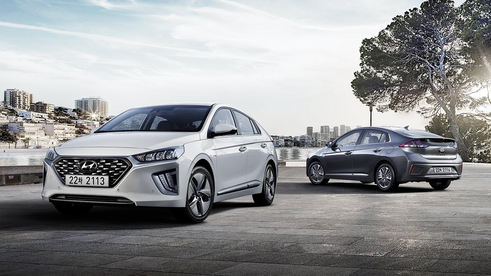 Frissítést kapott a Hyundai Ioniq