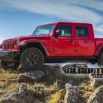 Pickup kivitelt kap a Jeep Wrangler