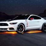 Holdra szállást ünnepel a Mustang