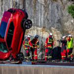 Volvók hullottak az égből, avagy új autókkal támogatta a svéd márka a mentőegységek kiképzését