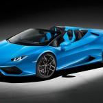 Nyitott tetővel is itt a Lamborghini Huracán!