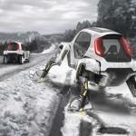 Kerekes lépegető tanulmányt mutatott be a Hyundai