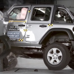 Frontális ütközésnél könnyen borul a Jeep Wrangler, vizsgálódik az amerikai közlekedési hatóság